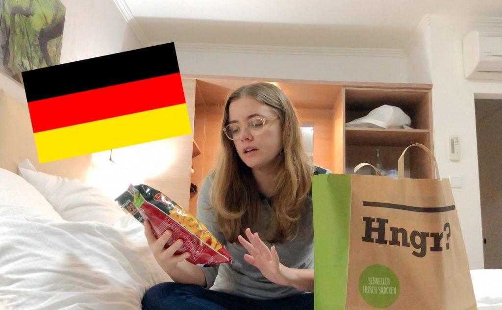 Trying German junk food