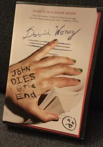 The front cover of the notes John Dies at the End.