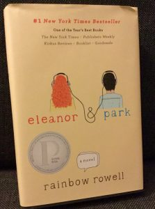 The front cover of the novel Eleanor & Park.