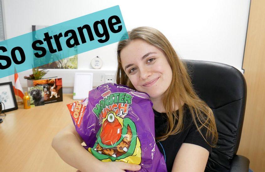 Weird British flavours