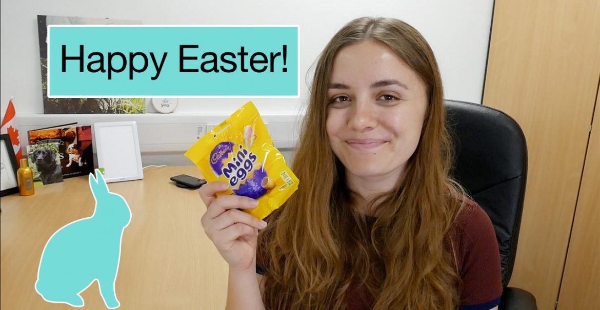 Canadian tries British Easter Treats