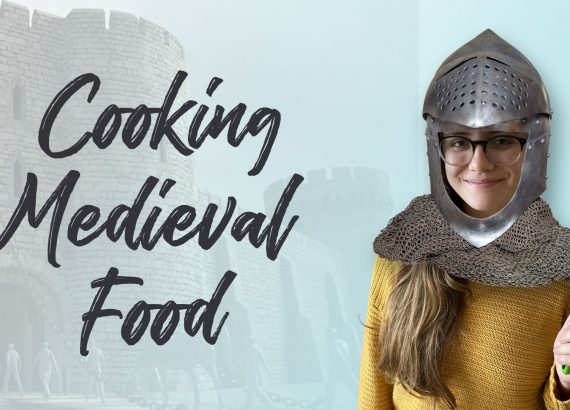 Foreigner cooking Medieval British food