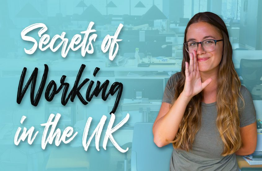 What it's really like working in England